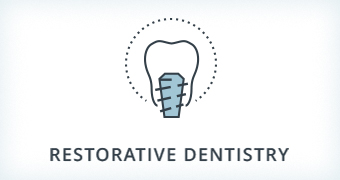 restorative dentistry icon